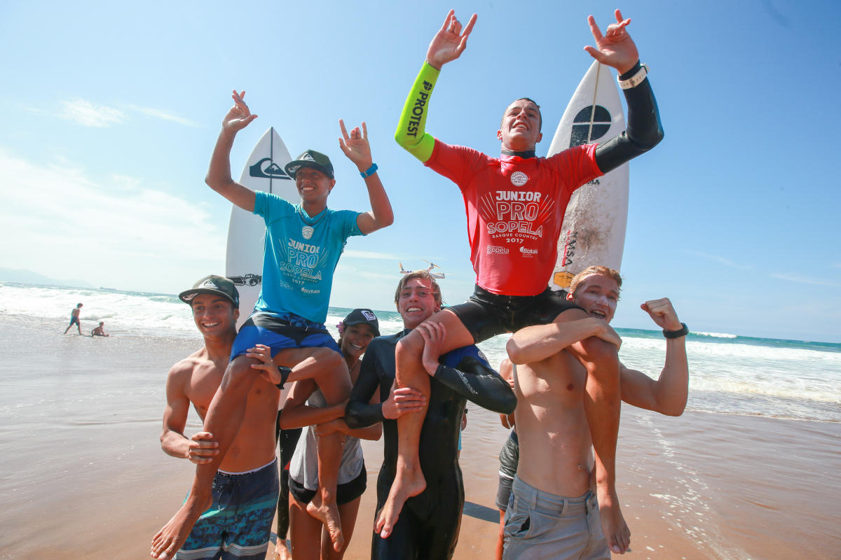 Junior Pro Sopela 2017 Highlights Lartigue and Etienne Crowned in Basque Country