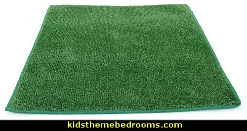 green grass rugs