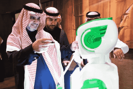 SAUDI ARABIA HIRES ITS FIRST ROBOT EMPLOYEE