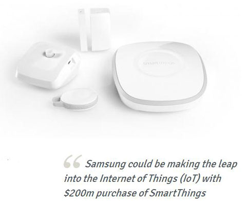 Masuki Era Internet of Things, Samsung Akuisisi SmartThings