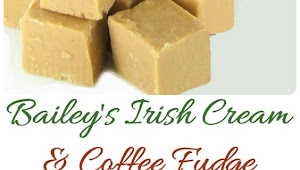 Bailey's Irish Cream & Coffee Fudge