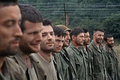 The 12 prisoners from The Dirty Dozen movieloversreviews.filminspector.com