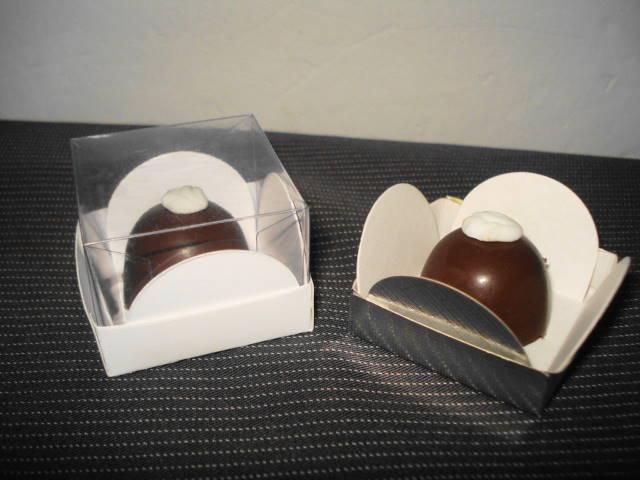 caixa com visor