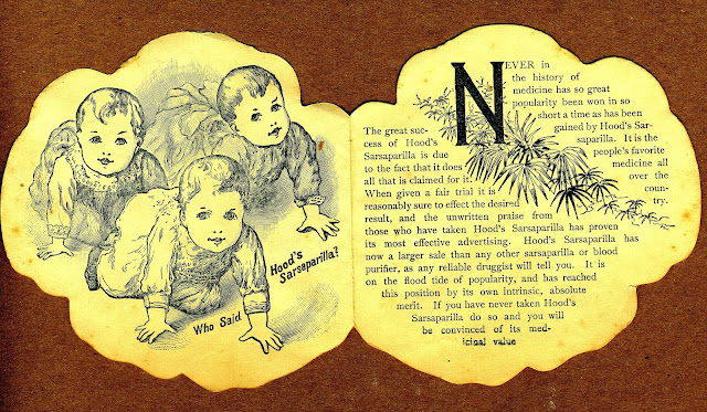 3 Children crawling on left page, text on right page