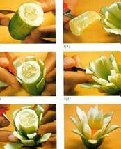 ChEf ChaLmeR LoVe reCipEs Fruit carving technic