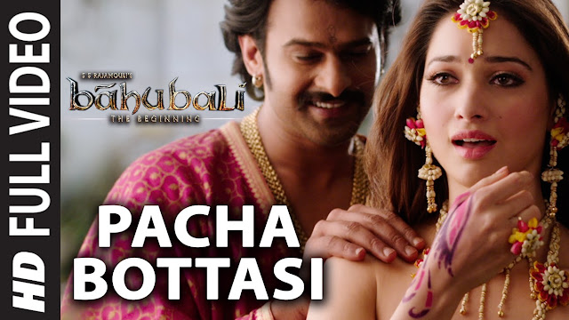 Bahubali Pacha Bottesi Download Full Video Song, Pacha Bottesi HD Video Song