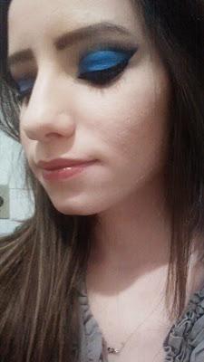 Detalhes da maquiagem