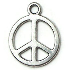 How to Earn the Junior Girl Scout Playing the Past badge-Make jewelry or headbands and add peace sign charms.