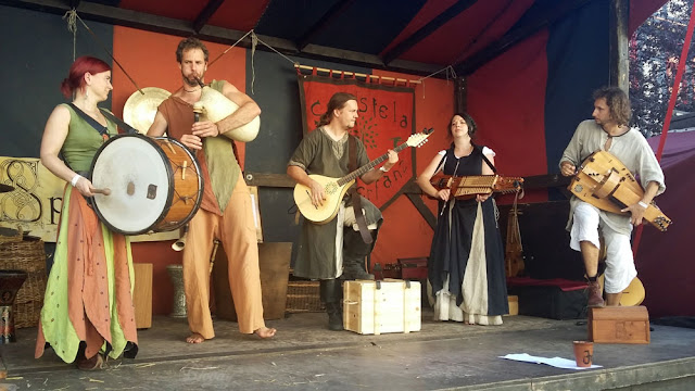 Auftritt Spellbound beim Mittelaltermarkt in Bad Langensalza