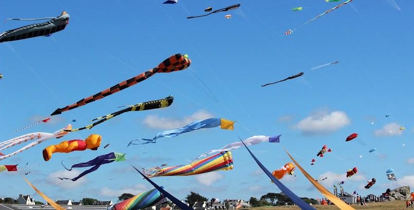 Latawce, Bretania, wiatr / Les cerfs-volants en fête à Porspoder