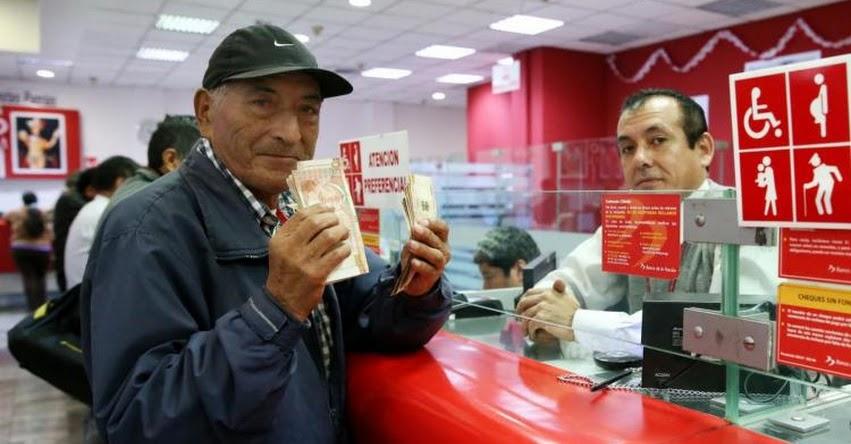 Jubilados ONP podrán cobrar aumento de pensión desde Junio 2019