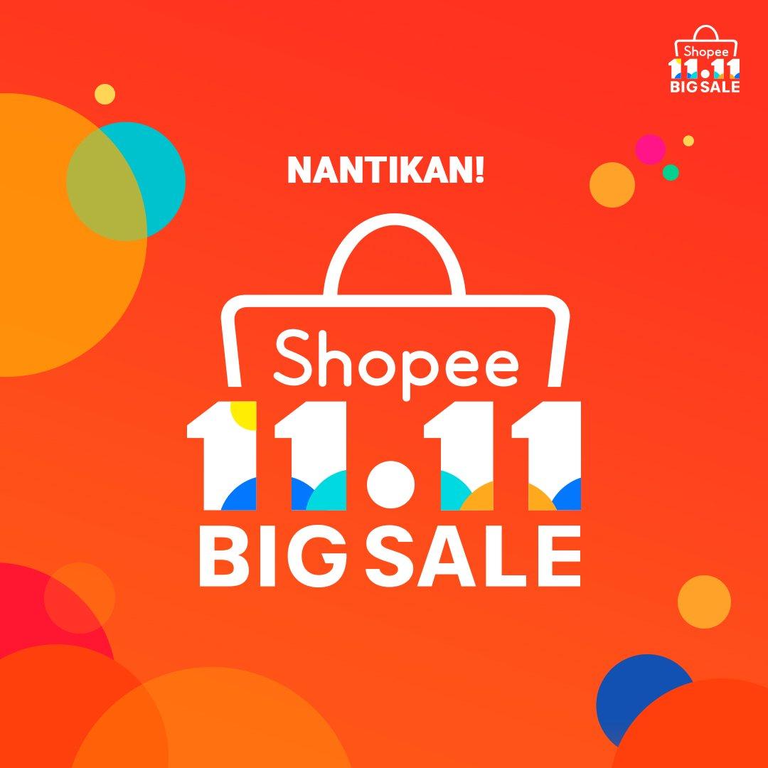 Shopee - Promosi Shopee 11.11 Big Sale