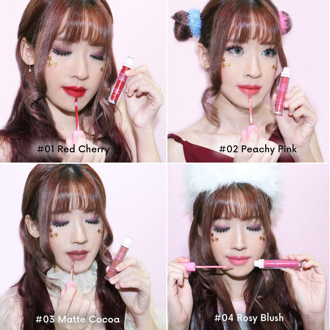 Jill Beauty Lip Cream Matte Lokal Yang Murah Dan Bagus 08 Mochaccino Dengan Harga Di Bawah Seratus Ribu