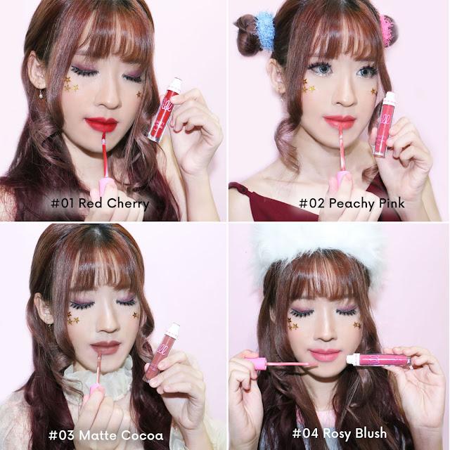 Jill Beauty Lip Cream Matte Lokal Dengan Harga Di Bawah Seratus Ribu