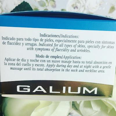 Firmocrem Cuello y Escote Galium Cosmética Integral