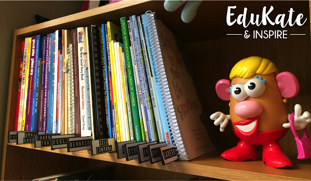 School Counselor Book Organization