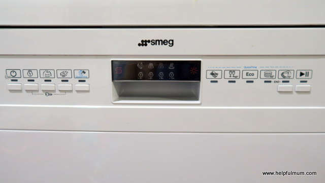 Smeg Dishwasher front