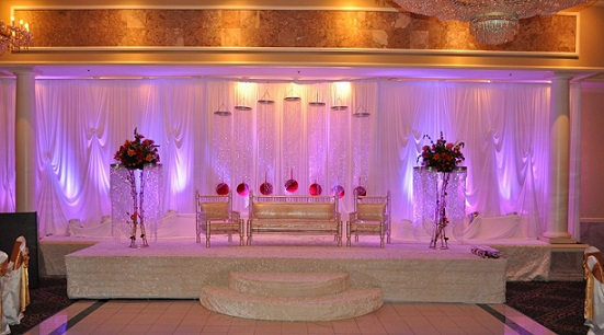 professional marriage services at one click 10 awesome indian wedding stage decoration ideas. Black Bedroom Furniture Sets. Home Design Ideas