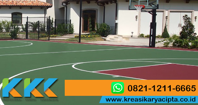 Pengecatan Lapangan Basket