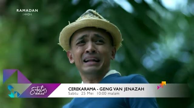 Cerekarama Geng Van Jenazah