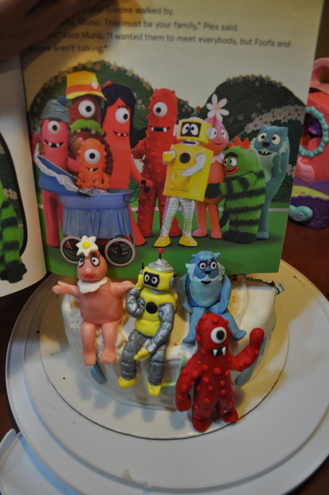 Cakes By Setia Yo Gabba Gabba Cake