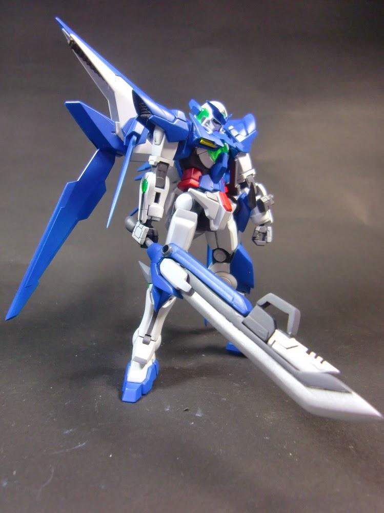 Custom Build: 1/144 Gundam Amazing Exia Seven Swords