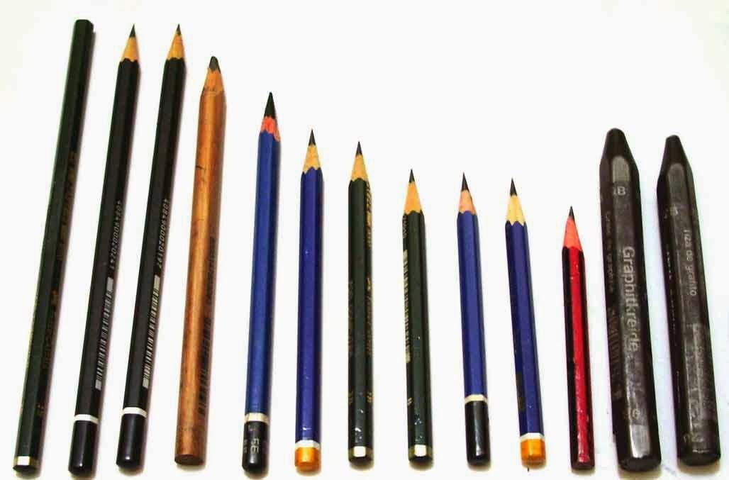 macam-macam pensil