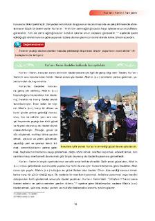 7. Sınıf Kuranı Kerim Ders Kitabı Cevapları Ata Yayınları Sayfa 15