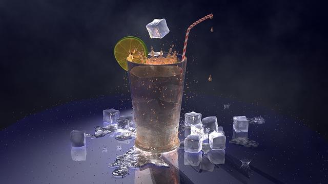 como darle un toque decorativo a las bebidas frías