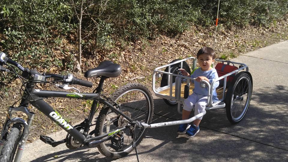 Frugaliscious review ikea sladda bicycle trailer you for Ikea sladda bike