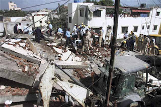 ممہاراشٹرا: زیر تعمیرعمارت کا حصہ منہدم' نو افراد ہلاک