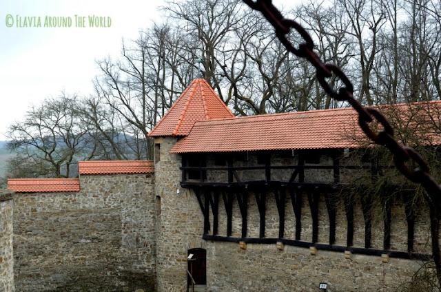 Exterior del castillo de Bouzov República Checa