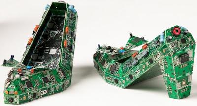 Zapatillas exóticas recicladas con tecnologia
