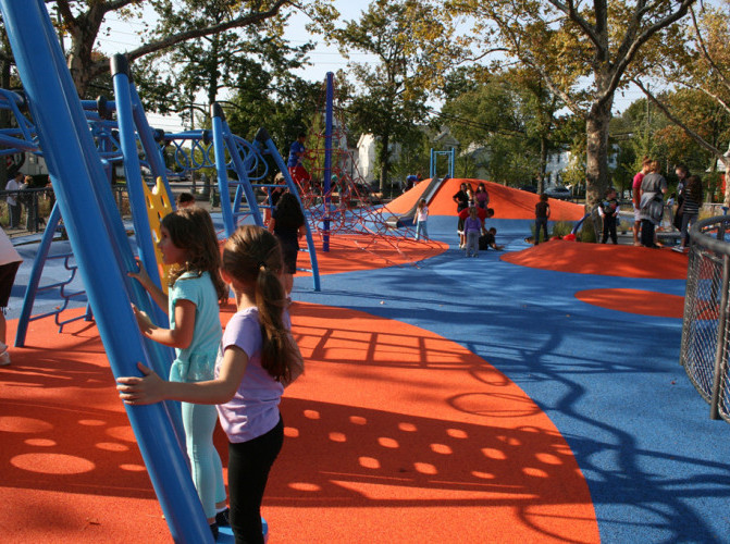 Schmul Playground Staten Island Places to Visit with Kids in NYC