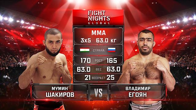 Mumin Shakirov vs. Vladimir Egoyan