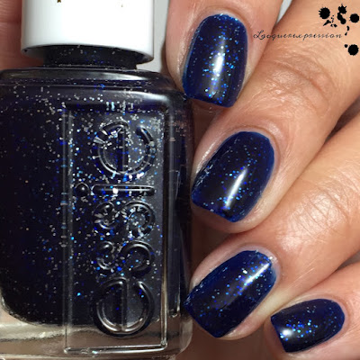 nail polish swatch of Starry Starry Night by Essie