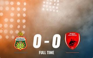 Bhayangkara FC vs PSM Makassar 0-0