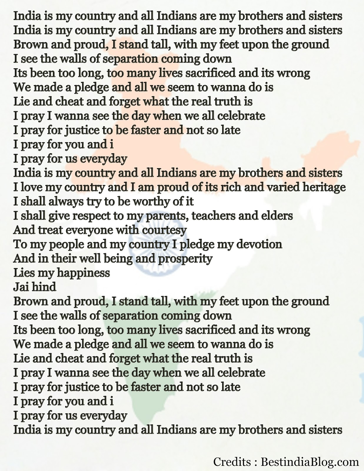 Indian Independence Essay - Words