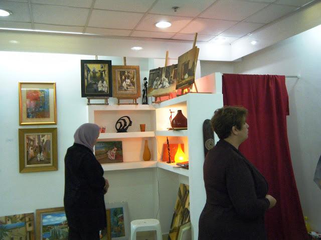 Préparatifs de l'expo de l'atelier artémisia 5