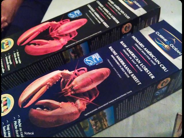 Du homard de l'ile du Prince Edouard au Canada