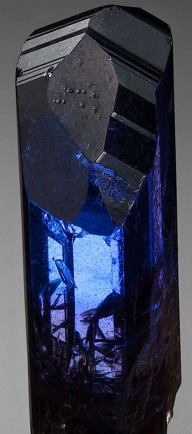 Tanzanite blue crystal large