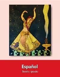 Libro de texto  Español Sexto grado 2019-2020