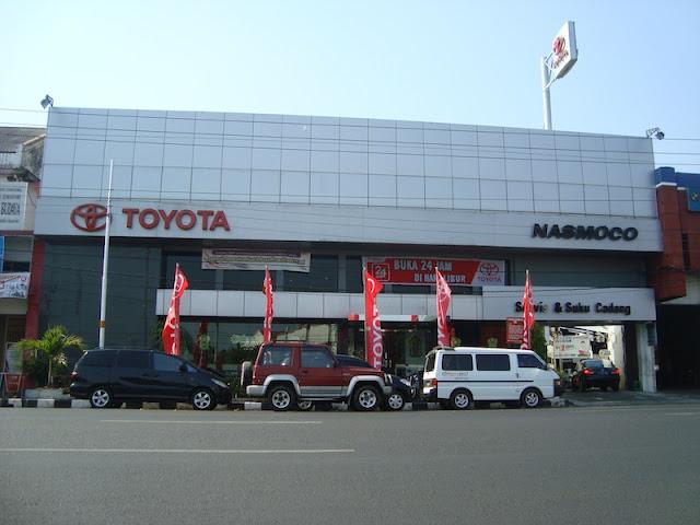 Alamat dan Nomor Telepon Bengkel Resmi Toyota Nasmoco Pemuda Semarang