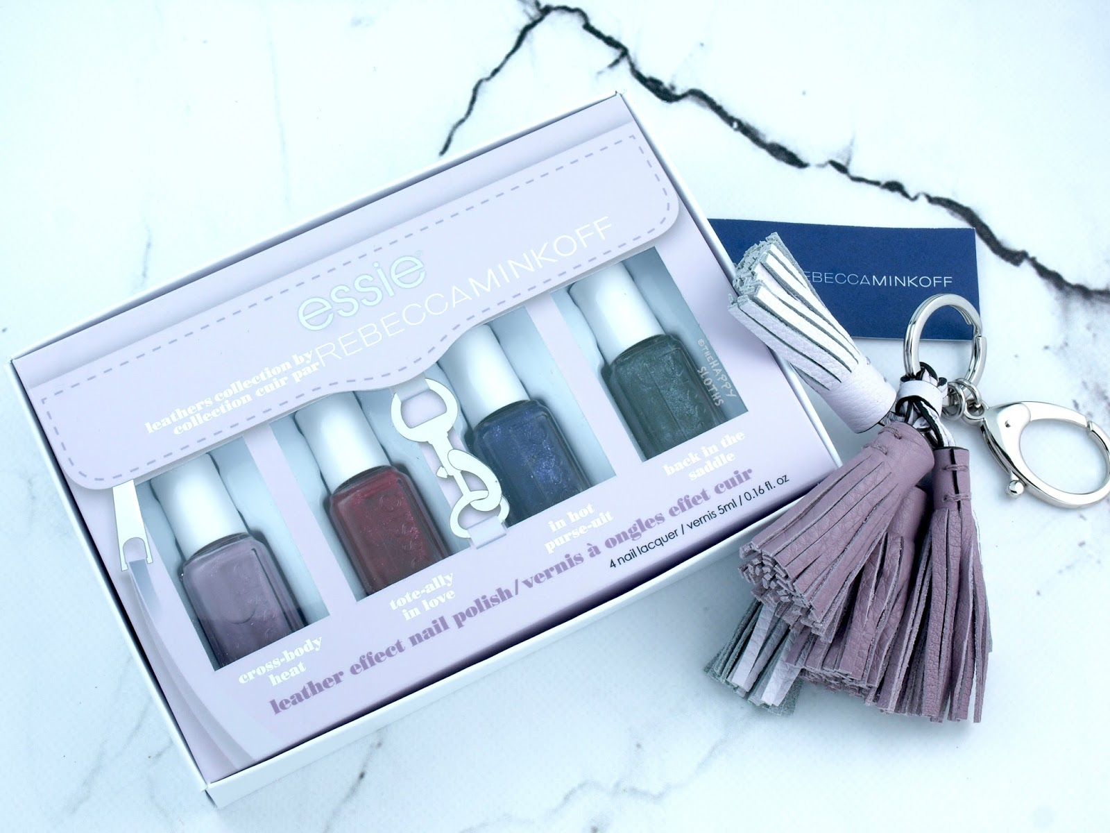 Essie Leathers Collection by Rebecca Minkoff: Review and Swatches