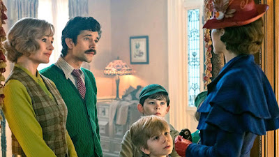 Mary Poppins Returns 2018 Disney movie Emily Blunt Emily Mortimer Ben Whishaw
