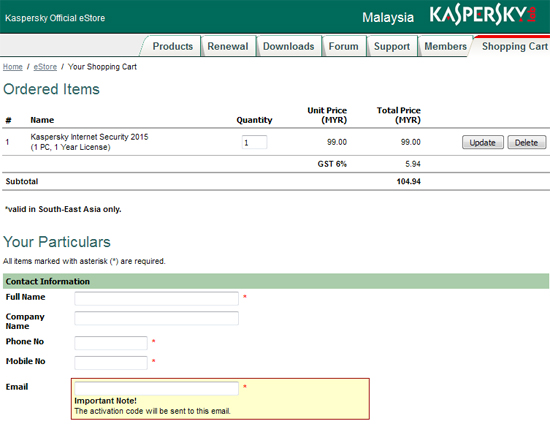 Kapersky Internet Security 2015