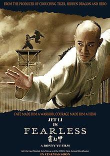 Sinopsis Film Fearless (2006)