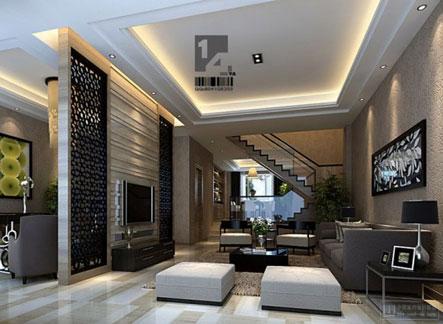 model desain ruang keluarga minimalis kecil klasik namun