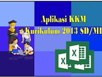 Aplikasi KKM Kurikulum 2013 Kelas 1-6 SD/MI terbaru