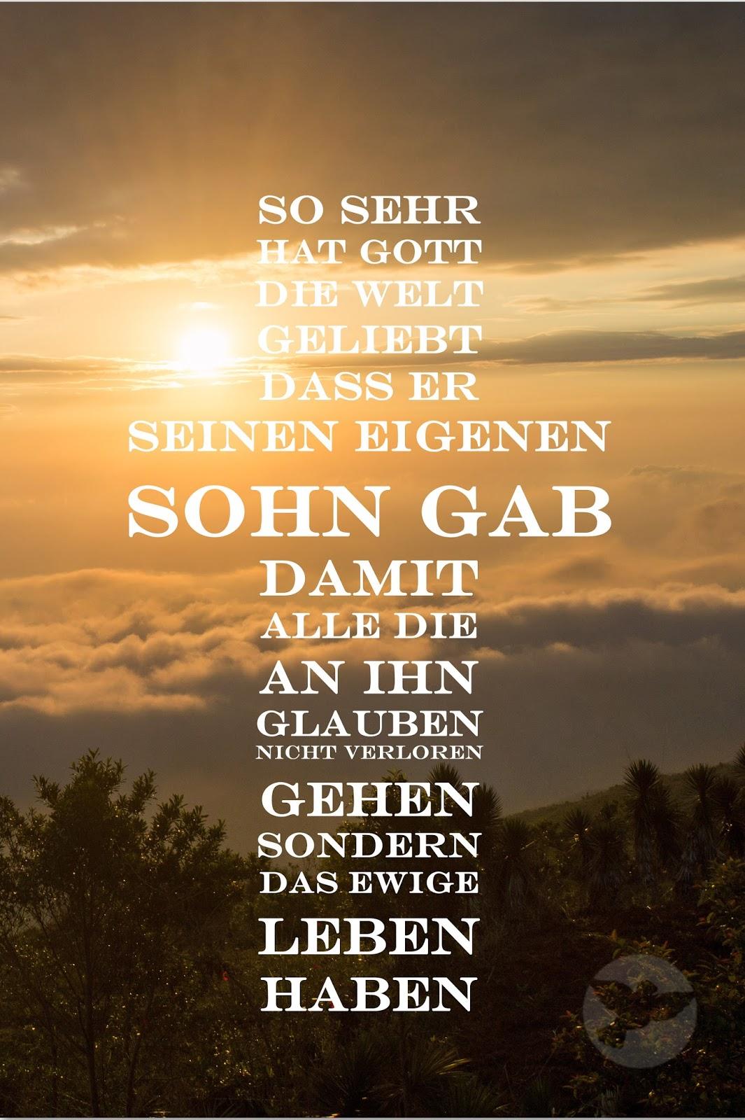 So Sehr Hat Gott Die Welt Geliebt